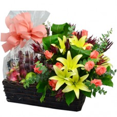 Flower and Fruits Hamper