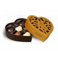 Godiva Chocolate Gold Collection Heart 6pcs
